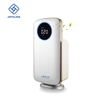 2018 smart LCD screen mini portable home hepa air purifier with F7 filter