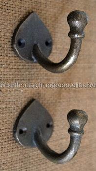 Wrought Iron Home Decor Coat Hooks Hangers Knobs Buy