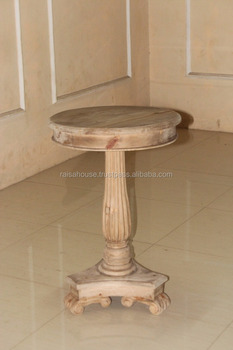 Indonesia Furniture-Bohemy Pine Wine Table-Pine Furniture
