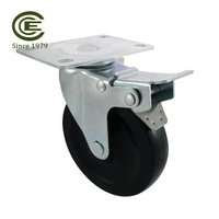 CCE Caster 4 inch Industrial Rollers Trolley Wheels And Castors