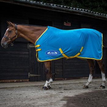 Hot Pink Rugs Navy Blue Horse Fleece Soft Rug Cooler Show Maxima Hearts