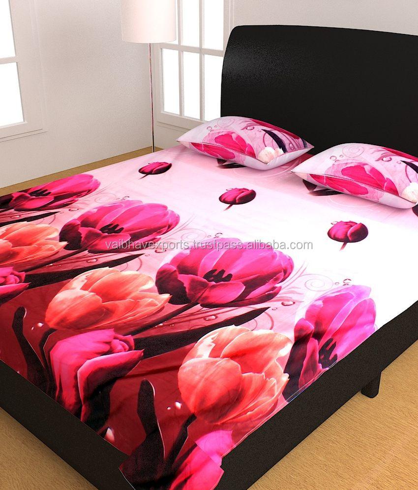 Bon Custom Print Bed Sheet, Custom Print Bed Sheet Suppliers And Manufacturers  At Alibaba.com