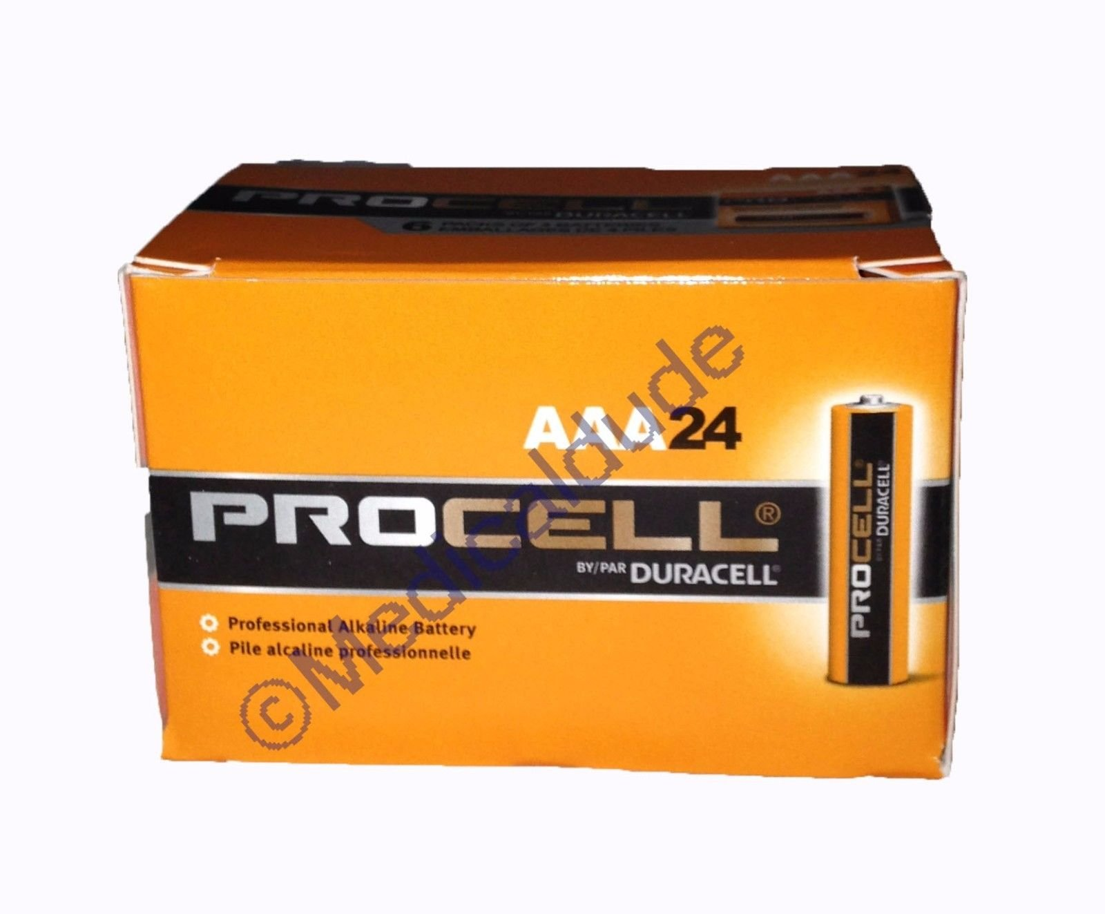 Duracell Procell PC1500 Alkaline-Manganese Dioxide Battery, AA Size, 1.5V,  24