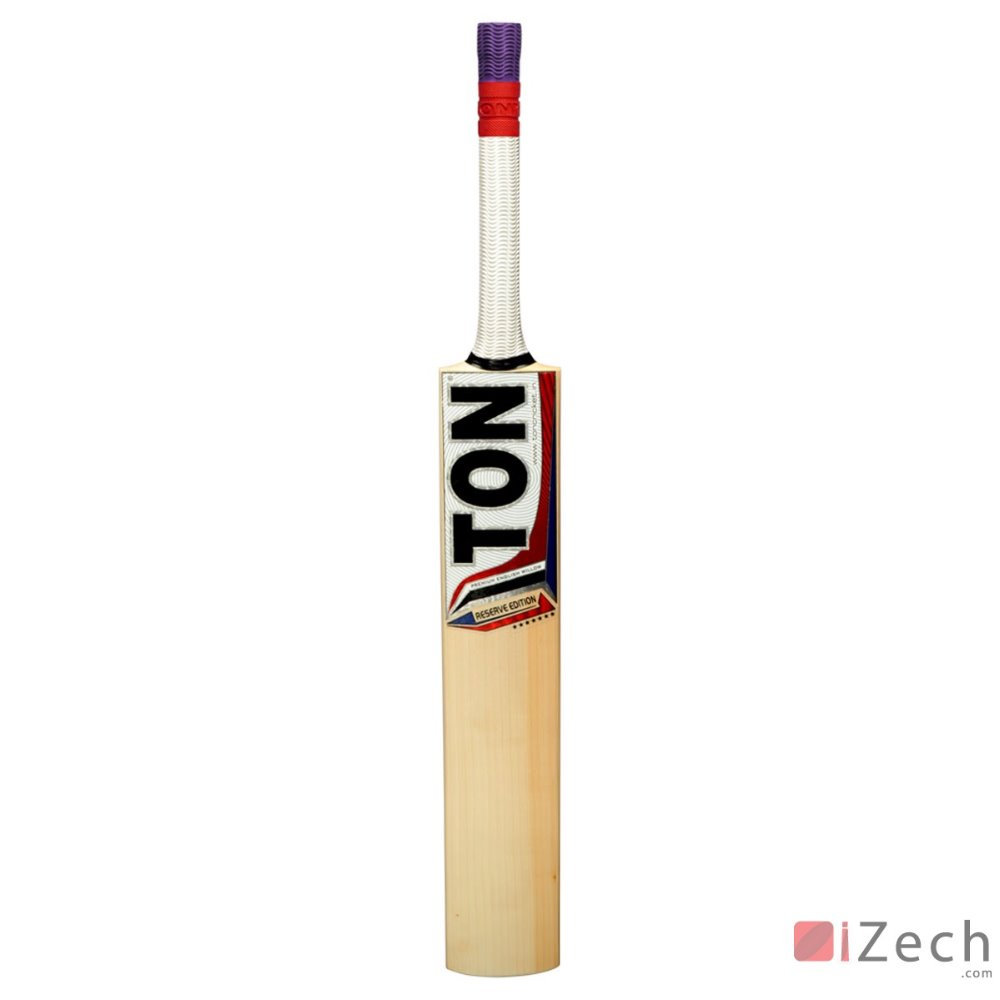 SS CRICKET TON RESERVE EDITION ENGLISH WILLOW CRICKET BAT SIZE SH