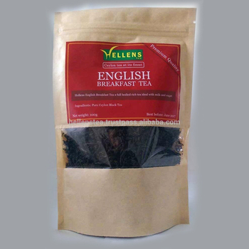 English Breakfast Tea premium pouch | Premium quality tea pouch | Private label packing