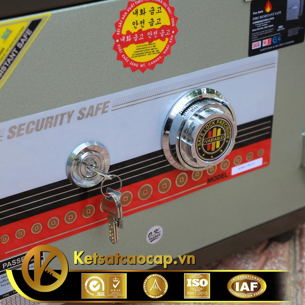 Mini safe box for home or office - KS 80M DK