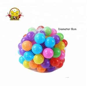 HLB-71202B Wholesale 8cm Plastic Balls Kids Soft Balls for Ball Pit