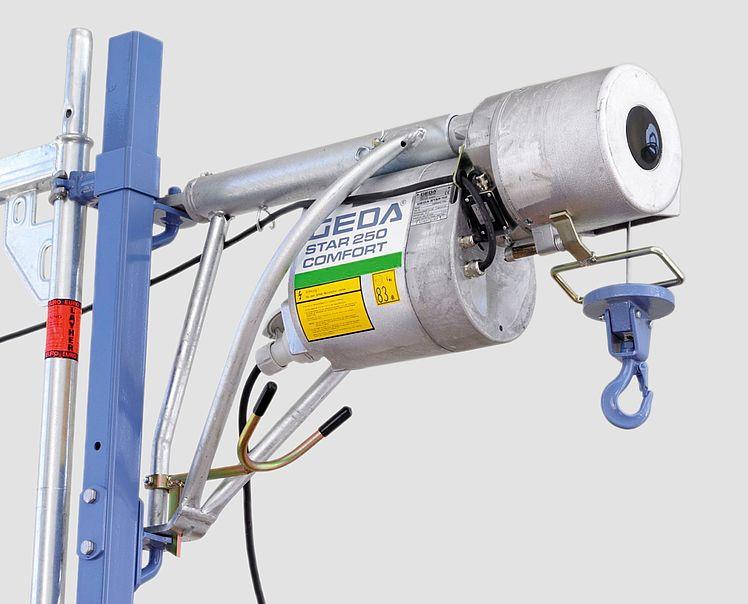Geda Star 250 Comfort - Rope Hoists - Buy Construction Hoist,Rope  Hoist,Swivel Arm Hoist Product on Alibaba com