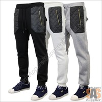Low Price Custom Fleece Cotton Basic Plain Dyed Men Printing Pants Sweat Pant Casual Wears Supplier