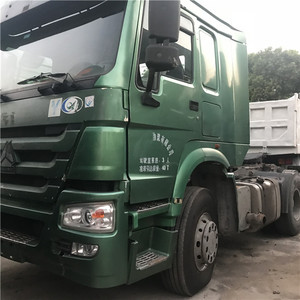 Secondhand Original Howo 375 6x4 tractor truck head , Howo 375 tractor truck,371 tractor truck Head For Africa