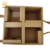 Eco-friendly large paperboard divider Kraft gift packaging boxes with handles
