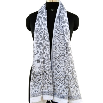 Indian printed cotton scarf summer wear pareo sarongs scarves