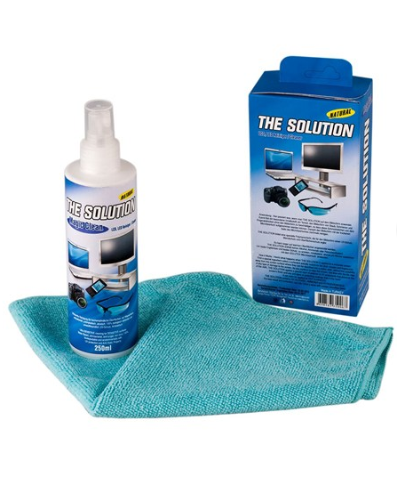 The Solution Screen Cleaner (LED, LCD, Plasma TV, Laptop and PC, Digital Camera, tablet) (250 ml)