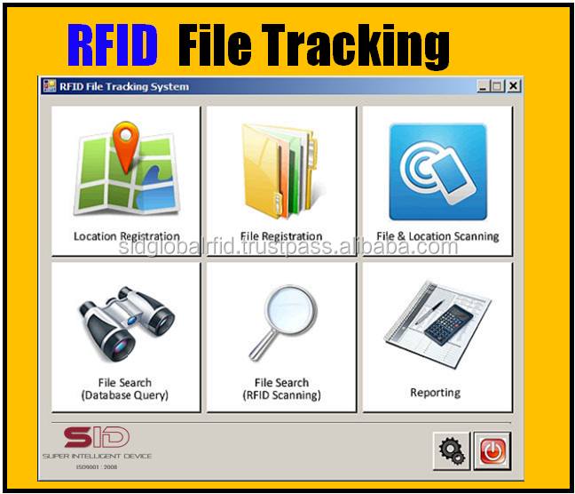 Rfid Asset Tracking System Software & Hardware --- Sid - Buy Asset Tracking  System,Rfid Asset Tracking Solution,Asset Tracking Reader Product on
