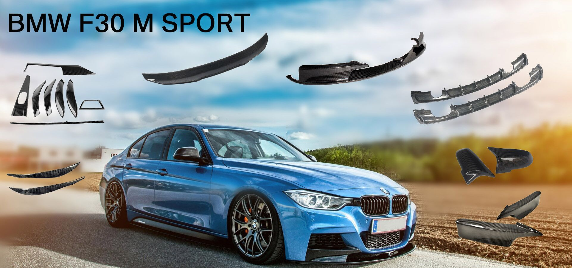 Mp Type For Bmw F30 M Tech 2013 2017 Car Accessories Carbon Front Bumper Lip Buy Carbon Accessories For Bmw F30 Front Carbon Lip Bumper Lip Carbon