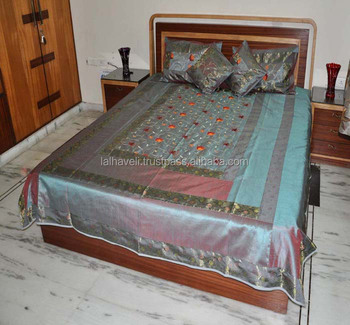 Home Decor Bedding Bedsheets Decorative Supplier Of Indian Silk Bedspreads
