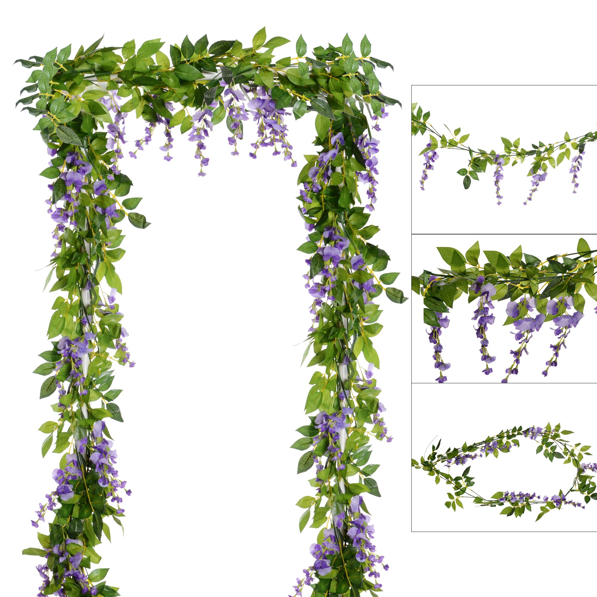 Cheap Silk Wisteria Flowers Find Silk Wisteria Flowers Deals On