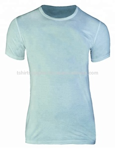 100% Cotton 130-180 Gsm Round Neck Short Sleeve Men`s T-Shirt