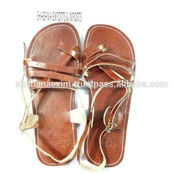 dc0333812 Leather sandals women flats custom genuine leather slippers handmade India