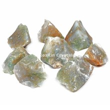 Luce Moss Agate Grezzo Tumbled Stones