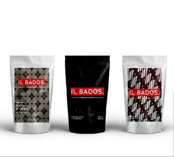 High Quality Premium Arabica Coffee Beans By IL BADOS From Bogor Kab Trading Indonesia