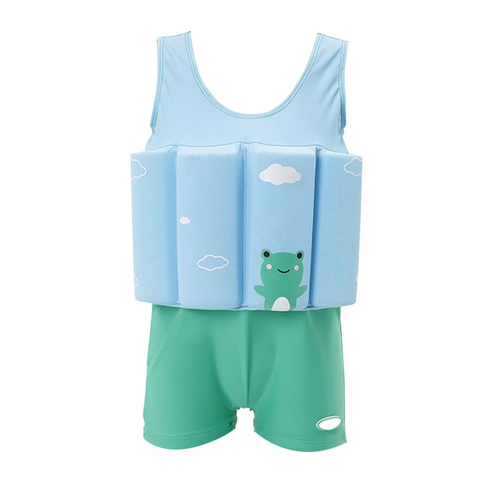 460339187c57b Get Quotations · Zerlar Boys Swimming Float Suit with Adjustable Buoyancy  Swimwear Swimsuit