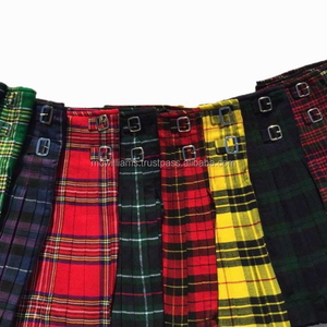 5fe7879807 Scottish Tartan Kilt, Scottish Tartan Kilt Suppliers and Manufacturers at  Alibaba.com