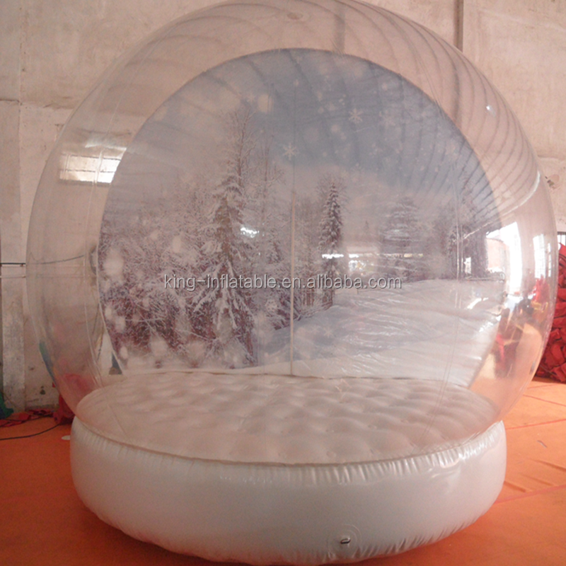 Outdoor Weihnachten Dekoration Aufblasbare Schnee Globen Aufblasbare ...