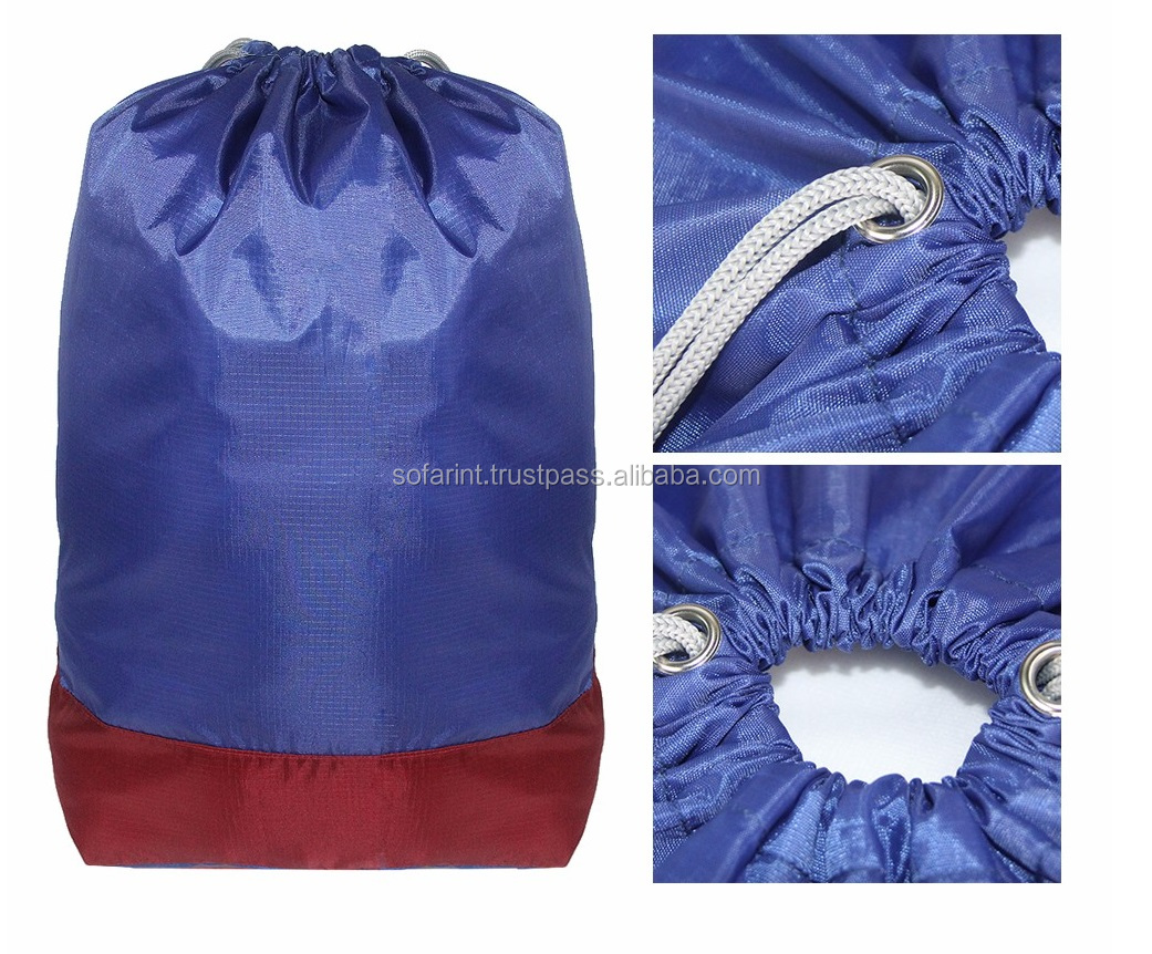 100% COTTON LAUNDRY BAGS/ DRAWSTRING LAUNDRY BAG