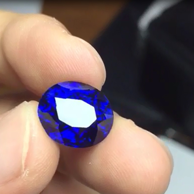 5 to 10 CT Peace Of Natural Certified Kashmir Blue Sapphire Gemstone Rough 112