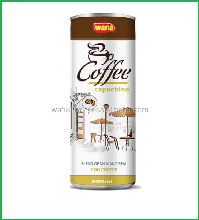 WANA Canned Coffee Drink Brand 250mL