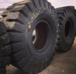 Used OTR Tire tyre E-4 24.00x35 for sale from United Kingdom (Forklift industrial tyre)