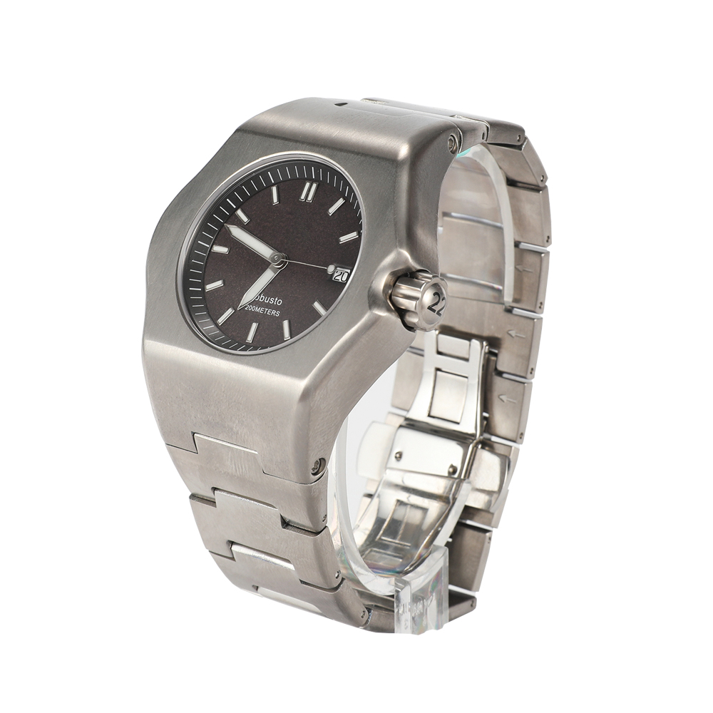Factory Professional Manufacturing 100m Waterproof 316 Stainless Steel Luxury Automatic Watch Wrist
