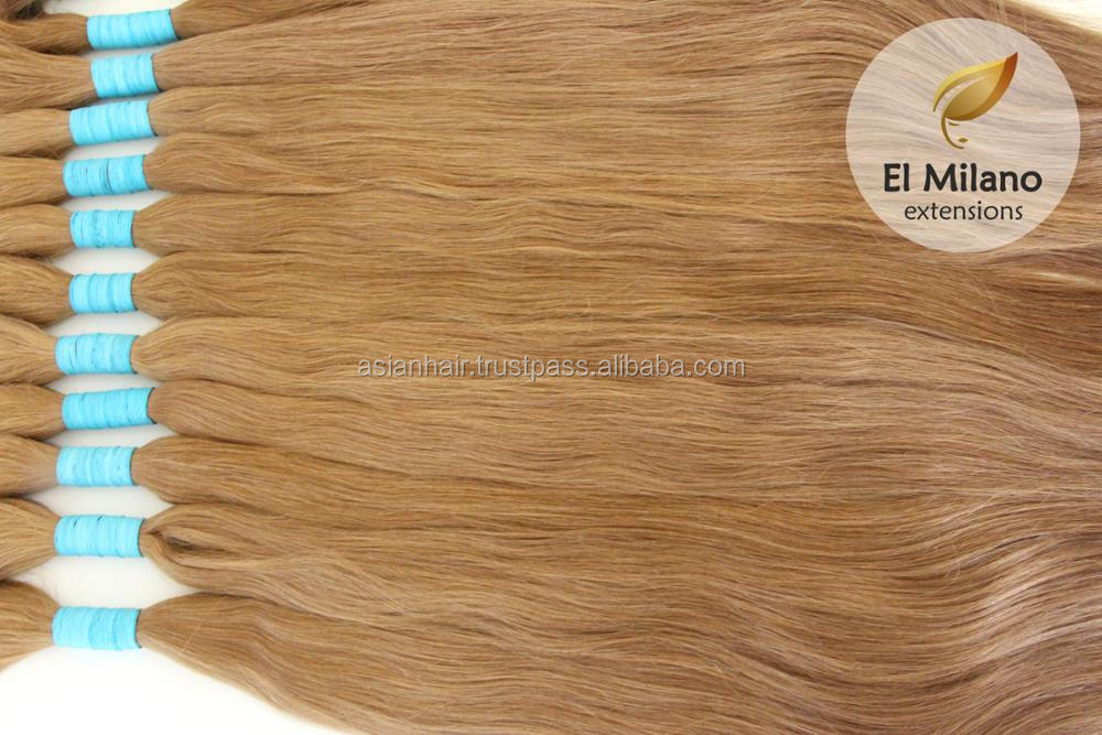 Cuticle Intact Double Drawn Hair Extensions 100 Natural Virgin Remy