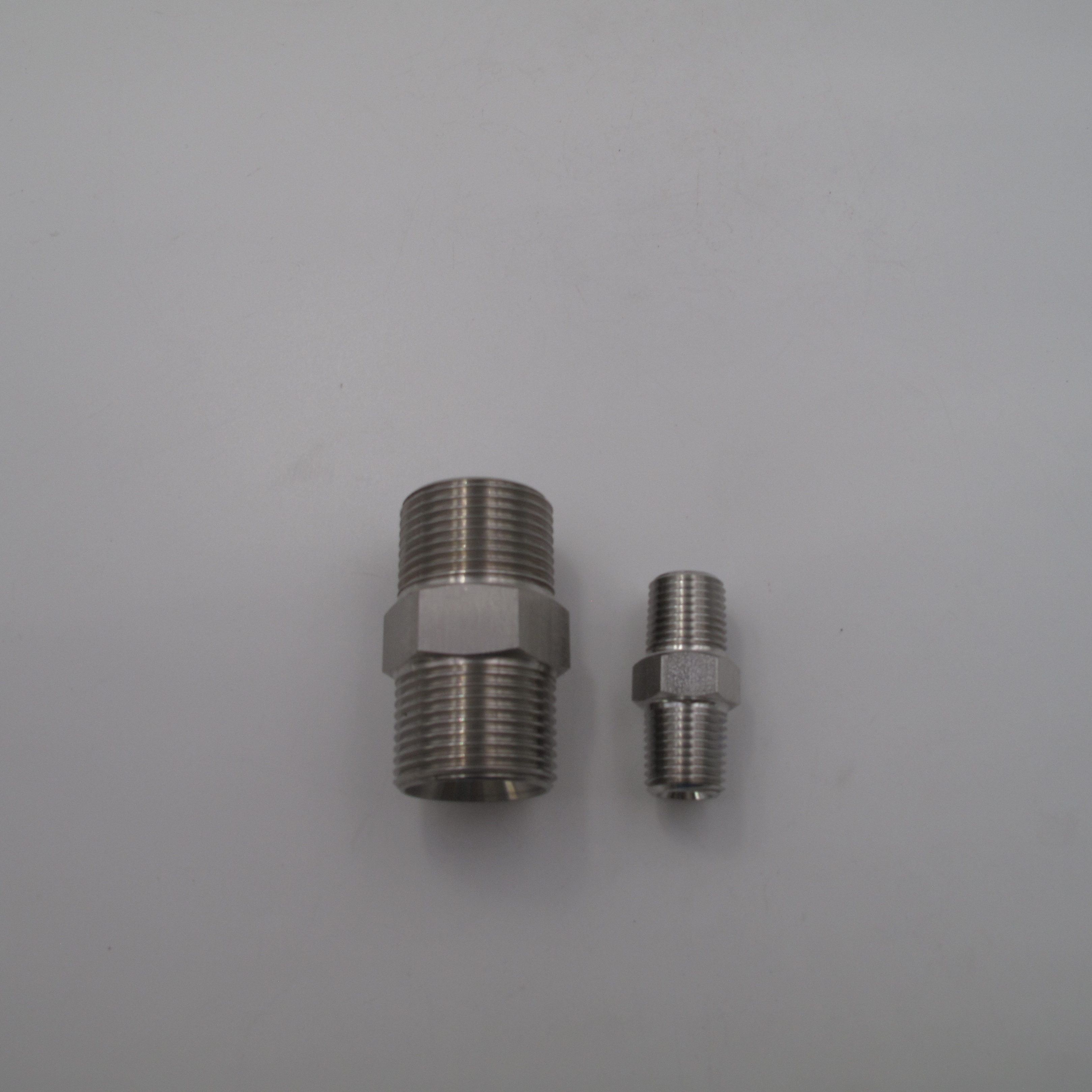 4 Pieces Grease Fitting UNF 10-32 Zerk Nipple Straight Brass