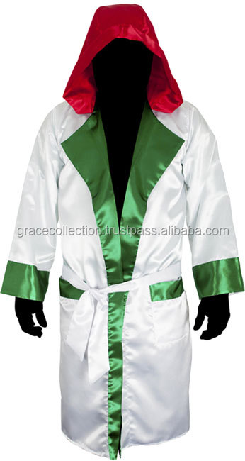 Latest Design Boxing Gown , Boxing Robe for professional , boxing robe