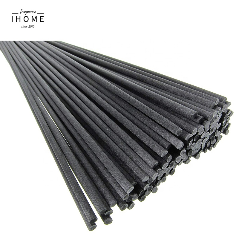 Black Aroma Synthetic Reed Diffuser Fiber Sticks without Gule