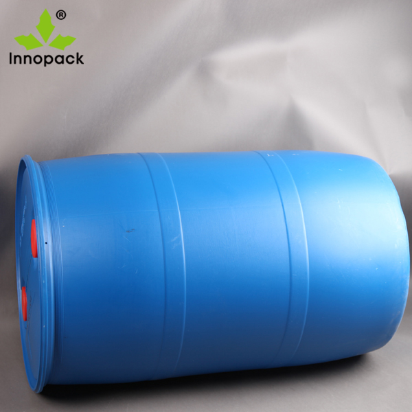 55 gallon 200L drum HDPE Open Top Blue Plastic Drum from Innopack