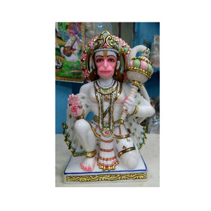 Classic Indian Lord Hanuman Ji Murti