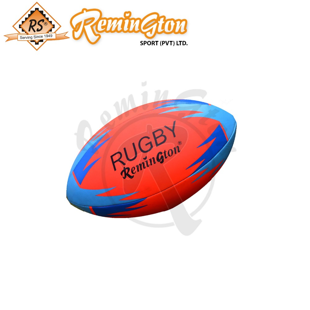 Rugby training ball size 4 machine stitched panel equipment official high quality machine stitched ball
