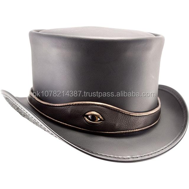 0ef6a07c7 2016 El dorado eye band steampunk Top Hat for mens black color, View ...