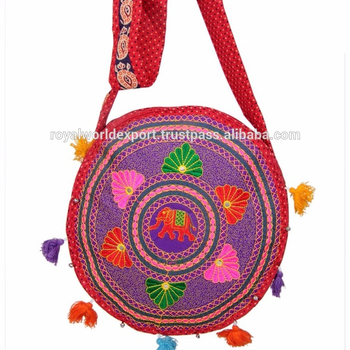 e0f12c7e99b6 ... Handbags (97700084). Latest Trend Cross Body Elephant Embroidery  Stylish Bags For Collage Girls Cotton Fabric Lady Hobo Evening