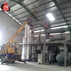 Used Car Oil Distillation Refinery Machine/ Waste Engine Oil Recycling Distillation Plant