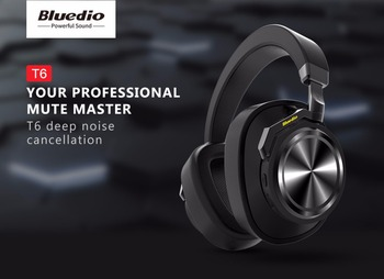 Bluedio T6 Active Noise Cancelling Headphones Wireless Bluetooth Headset With Microphone For Phones And Music Buy Groupset Product On Alibaba Com