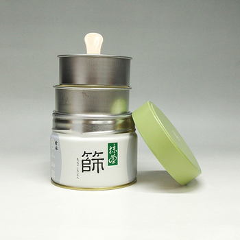 Matcha Sieve Can (Marukyu-Koyamaen) Made in Japan