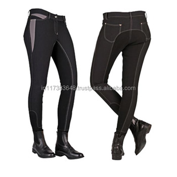 Equestrian Silicone Breeches Products For Horse Riding Men And Women Back Both Side Pocket Wholesalers