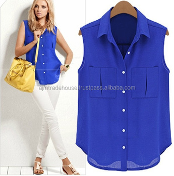 New Casual Blouse Designs 2018 New Girls Casual Sleeve Tops Shirts