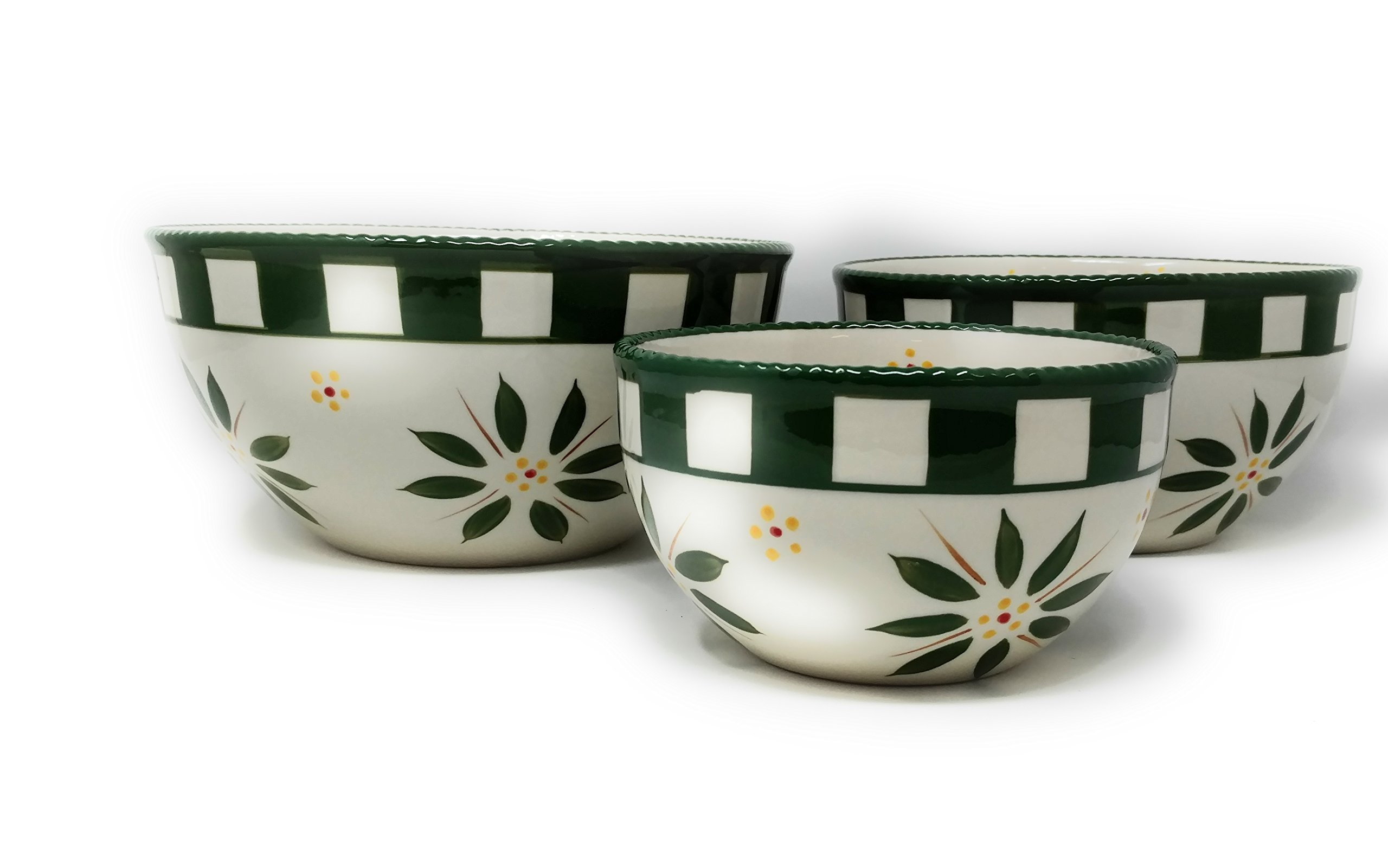 Temp-tations Set of 2 Bowls Mixing or Serving, Nestable (0.5 & 1 Quart Whimsy - 2pc)