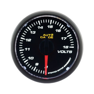 high speed electric car auto voltmeter gauge 52mm