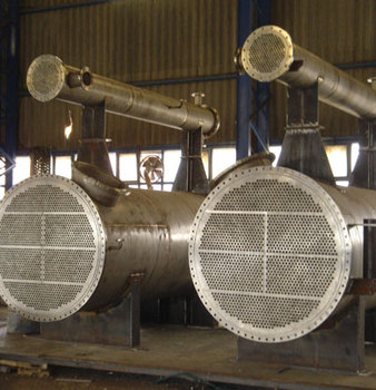 Tubular heat exchanger, Copper, Stainless, Steel